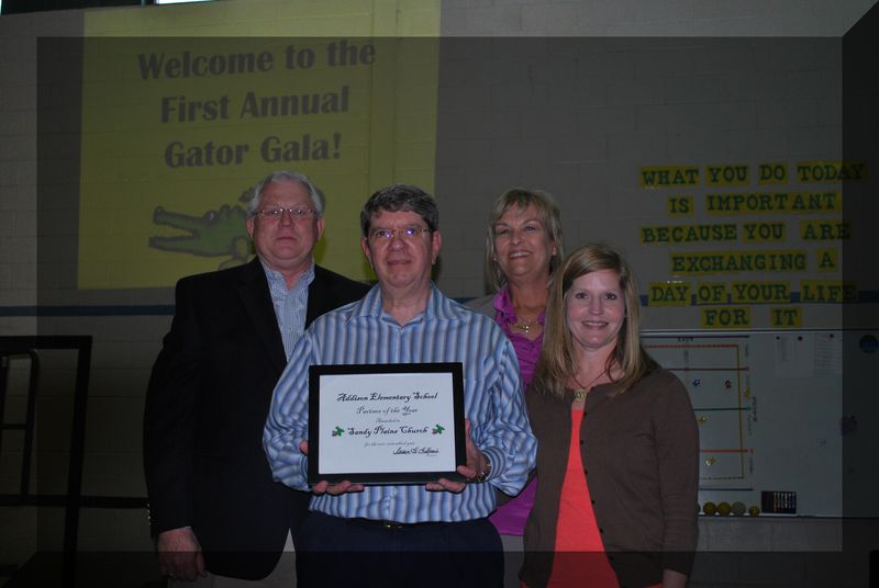 Sandy Plains Church 1-Partner of the year